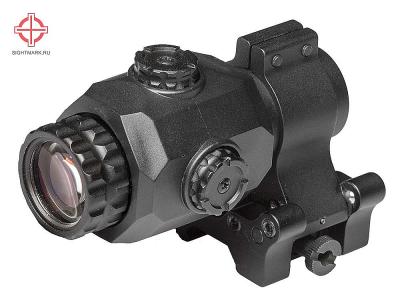 Увеличитель Sightmark Tactical XT-3 с откидным кронштейном (SM19062)
