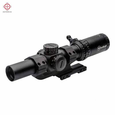 Оптический прицел Firefield RapidStrike 1-6x24 SFP с кронштейном, сетка Circle Dot с подсветкой (FF13070K)