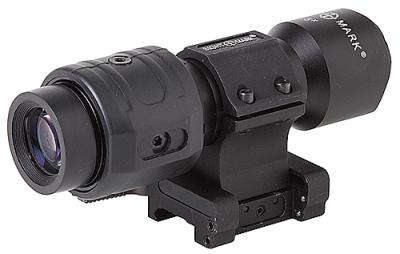 Увеличитель для коллиматоров 5х с откидным быстросъемным кронштейном Sightmark Magnifier SM19025