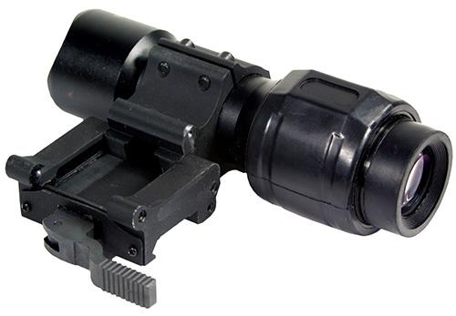 Увеличитель для коллиматоров 5х откидным быстросъемным кронштейном Sightmark Magnifier SM19025